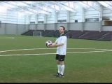 How To Juggle With Your Left And Right Thighs In Soccer