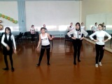 II группа комбинация из танца